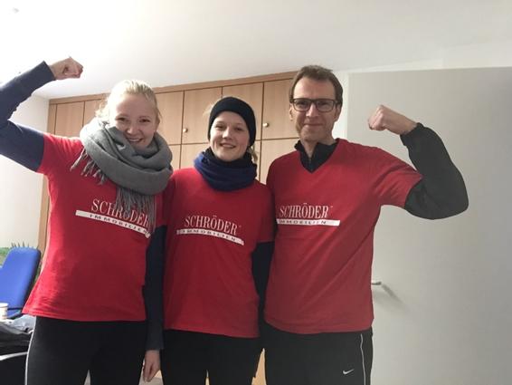 Mitgelaufen beim Deichlauf 2018 in Winsen/Luhe